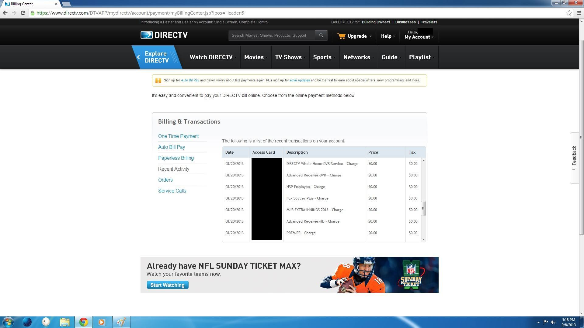 Nhl center ice discounts satelliteguys for all to be jealous of 1betcityfo Image collections