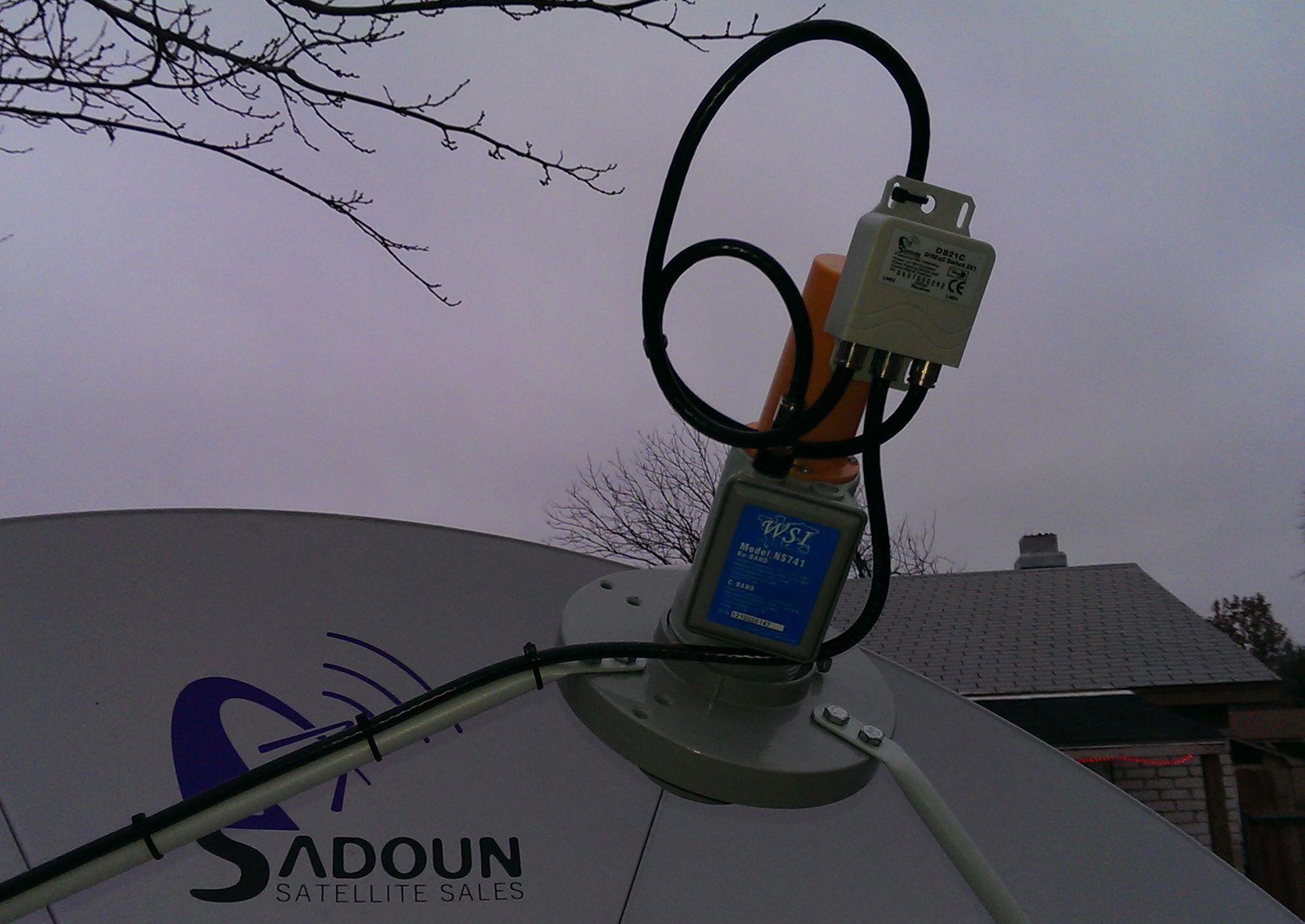 Multi LNB Holders for Cband SatelliteGuysUS