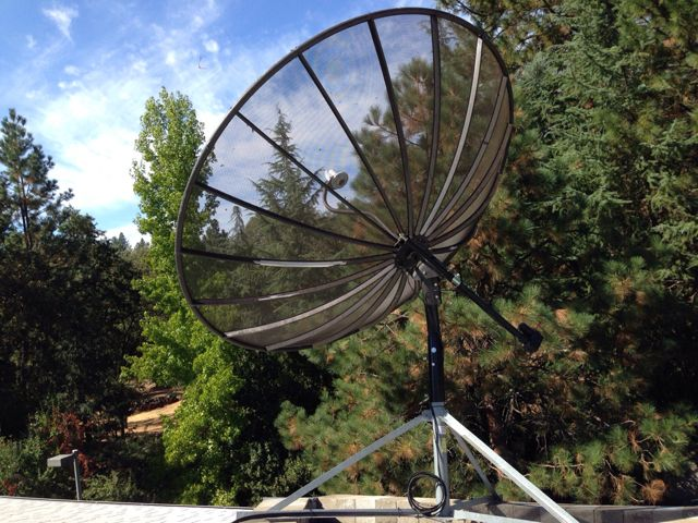 Please Post Pic S Of 10 Ft And 12 Ft C Band Dishes