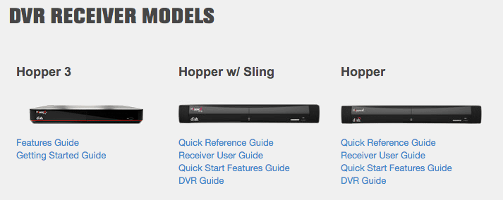 why is there no hopper 3 specific user manual satelliteguys us rh satelliteguys us dish hopper 3 owners manual Dish Hopper Problems