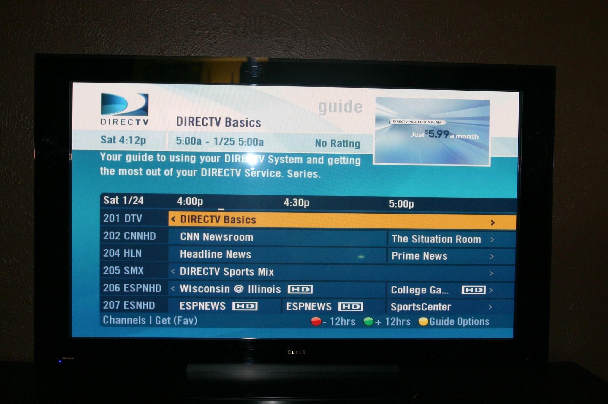 Dark Picture - Direct TV New Installation PLEASE HELP | SatelliteGuys US